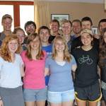 The Peru SST Spring unit: Natalie, Gina, Aimee, Gretchen, Maria (front row), April, Malaina, Jake, Neal (middle row) and Thomas, Jonathan, Dean, jackson, Derek and Caleb (back row).