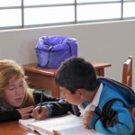 Natalie spends a lot of time working one-on-one with Luis, a child who has faced many obstacles in his life.