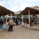 The Sunday market at Chinchero.