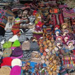 Items for sale at the Sunday market in Chinchero.