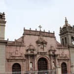The Ayacucho Cathedral is in the Plaza de Armas.