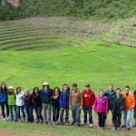 A group photo at Moray.