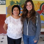 Maria with INABIF Director Doris Espinoza Leon.