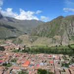 A spectacular view of Ollantaytambo.