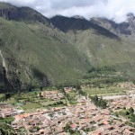 A stunning view of Ollantaytambo.