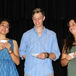 Neal, Gretchen, Jackson and Maria. There were some tears when students thanked their host families.