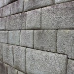 Inca builders crafted walls out of huge stones and made sure they fit together perfectly.