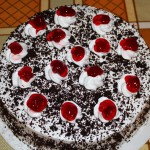 "An especially tasty treat was a ""Negra Selva"" cake, the Peruvian version of a Black Forest Cake."