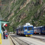 The train station at Ollantaytambo.
