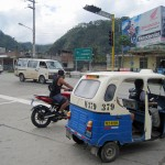 All the modes of transportation: collectives (shared taxis), Combis (vans) and three-wheeled moto-taxis. Privately-owned transportation is usually a scooter.