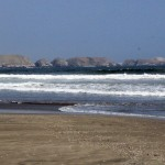 The beach at Kawai, which is south of Lima and where we held our retreat.