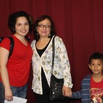 Edith with host mother Marisel Avalos Mendocilla, and Marisel's grandson Adriano.