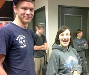 Thomas and Jaime in the Union. Thomas was part of the Spring Peru SST unit and Jaime is part of the Summer unit.