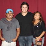 Derek with host parents Glicerio and Sara Huarac Quispe.