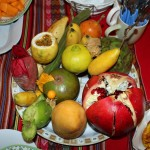 A selection of Peruvian fruit.