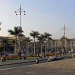 The Plaza Mayor in downtown LIma.