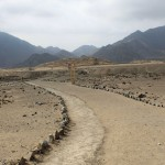 A scenic vista at Caral.