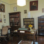 The office of Ricardo Palma, one of Peru's leading literary figures.