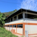 The school building in San Miguel.