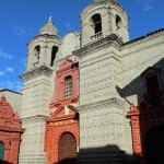 The Compania de Jesus Church was founded in 1605.