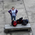 Miranda arrives in Lima after an overnight bus ride from Chiclayo.