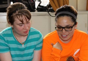 Leah and Edith learn they will be working at a clinic in Ayacucho.
