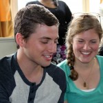 Stefan and Edith learn they will work at a support center for children in San Ramon.