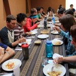 Lunch together in Chinchero.