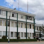 The municipality building in Oxapampa.