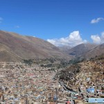 Brian and Matt are serving in Tarma, a city located in the Andes mountain range.
