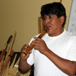Pablo showed us the quena, one of the most difficult instruments to play.
