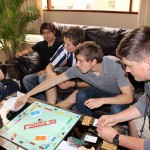 Students play a rigged game of Monopoly to gain insights into income inequality.
