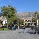 The main plaza of Ayacucho.