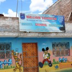 Alejandro also volunteered at this primary school.