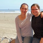 Jaime and Miranda pose for a photo in the quiet beach community of Pimentel, which is 10 kilometers west of Chiclayo.