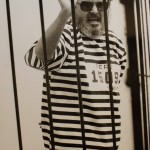 Abimael Guzman, the leader of the Shining Path terrorist group, was captured by police on Sept. 12, 1992. Twelve days later, Guzman was forced to dress in a striped prison uniform and put on display for the news media in a large metal cage. He remained defiant.