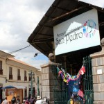 We visited the San Pedro market, not far from the central plaza.