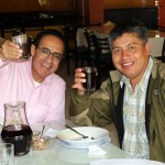 Peru SST Director Richard Aguirre with Wilfredo Villavicencio, our coordinator for the Andes.