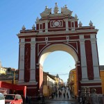 The Arch of Triumph in Ayacucho.