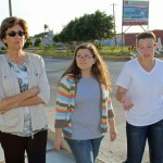 Peru SST Co-Director Judy Weaver with Miranda and Jaime in Pimentel, a beach community near Chiclayo.