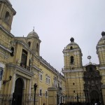 The Iglesia de San Francisco and its adjacent monastery: considered one of the most important historic monuments in Lima. Soon after Francisco Pizarro founded Lima in 1535, Franciscan friars began to build the monastery.