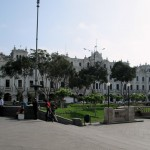 Plaza San Martín, inaugurated on July 27, 1921 in celebration of the 100th anniversary of the independence of Peru.
