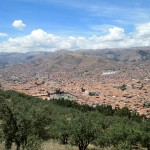 A view of Cusco from Sacsayhuamán.