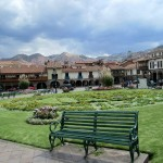 We walked through the historic main plaza in Cusco after lunch.