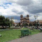 The main plaza of Cusco.