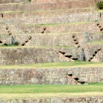 Terraces and Inka steps at Tipón.