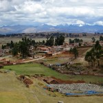 The countryside around Chinchero, which will soon be home to Cusco's new airport.