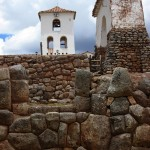 The colonial-era church at Chinchero.