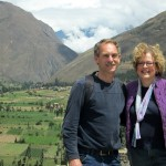 Duane and Karen above Ollantaytambo.