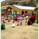 Frances shares a photo from her World Vision trip to Pitumarca, a small town about 100 km outside Cusco.